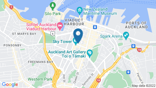 Star Victoria Serviced Apartments Map