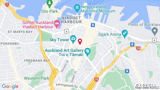 President Hotel Map