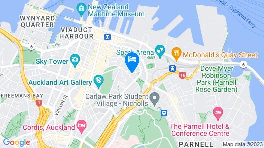 Braemar on Parliament Street Map