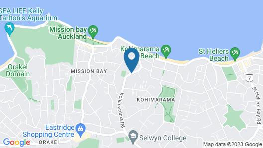 Kohi Beach Bed & Breakfast Map