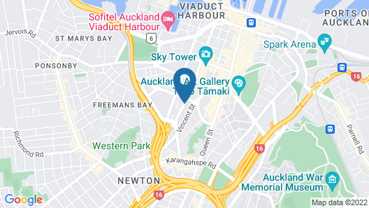VR Auckland City Map