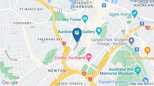 YWCA Auckland Map
