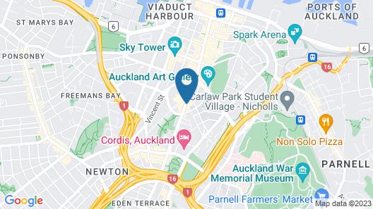 Airedale Boutique Suites Map