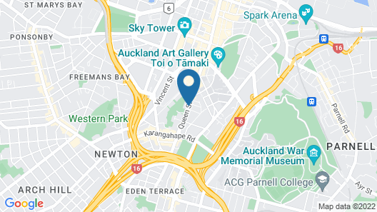 Quest Auckland Map