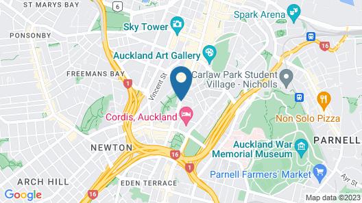 Quest Auckland Map