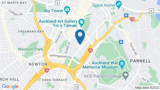 Waldorf Tetra Serviced Apartments Map