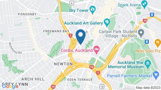 YMCA Hostel Map