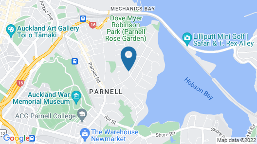 The Parnell Hotel & Conference Centre Map