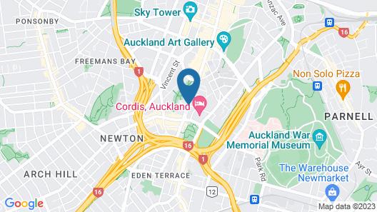 VR Queen Street - Hotel & Suites Map