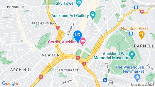 Kiwi International Hotel Map