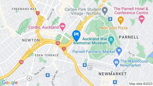 Zest OK Auckland Map