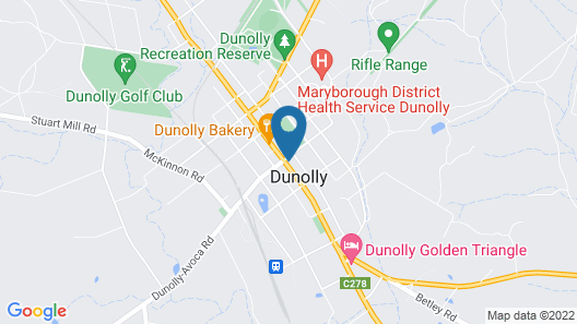 DUNOLLY BROADWAY B&B Map