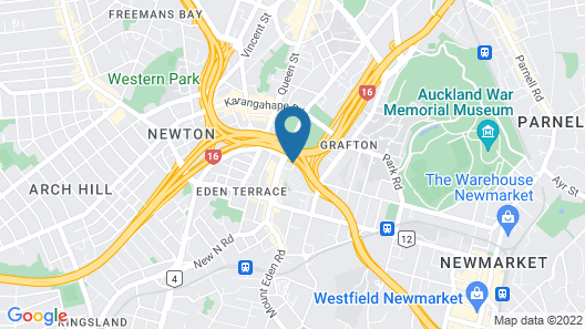 Grafton Backpackers Map