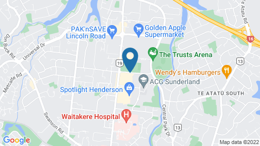 Quality Hotel Lincoln Green Map