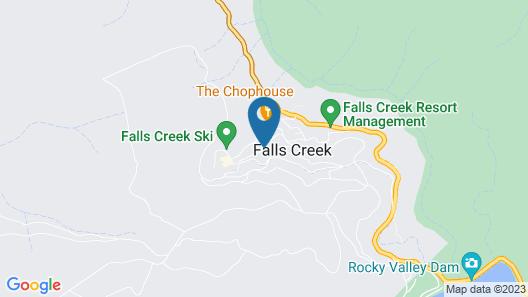 Murmeli Falls Creek Map