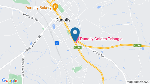 Dunolly Golden Triangle Motel Map