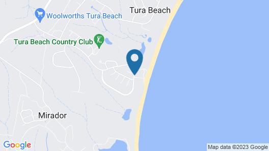Beach House 2 - Tura Beach Map