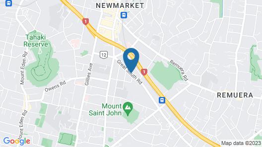 Greenpark Motel Map