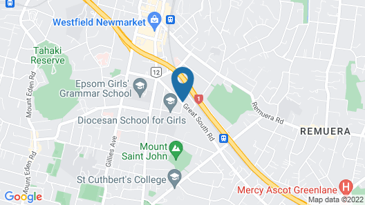 Siesta Motel Map