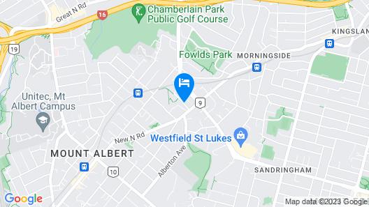 Mt Albert Motor Inn Map