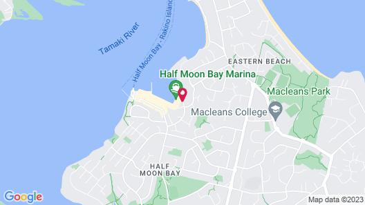Half Moon Bay Motel Map