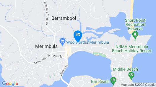 Harbour Lights Holiday Units Map