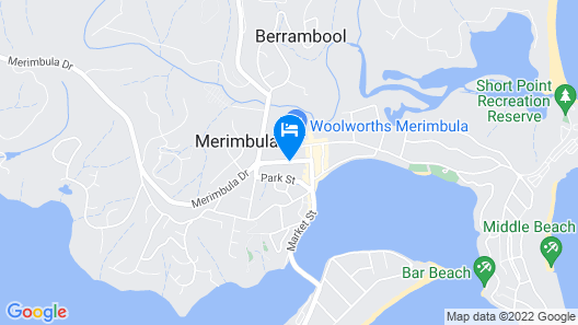 South Seas Motel Map