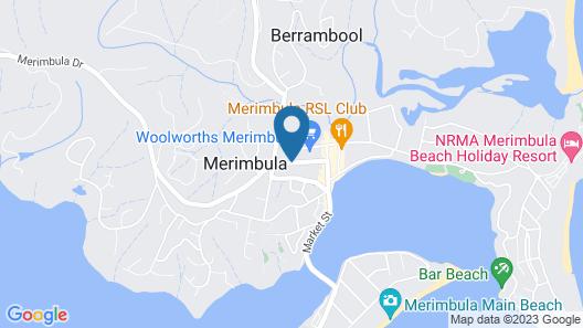 Summerhill Motor Inn - Adult Only Map