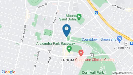 Cornwall Park Motor Inn Map