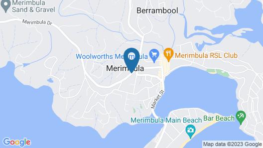 Comfort Inn Merimbula Map