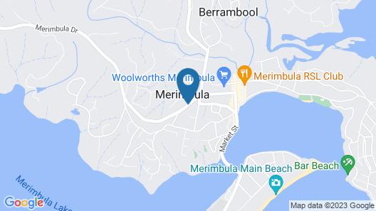 Merimbula Gardens Motel Map