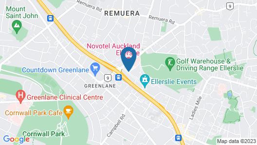 ibis Auckland Ellerslie Map