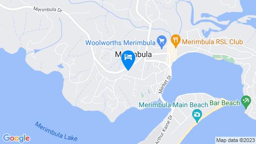 Ocean View Motor Inn Map