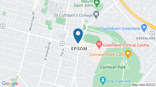 Modern Two Bedroom Epsom Apartments Map