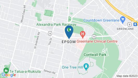 Epsom Motel Map