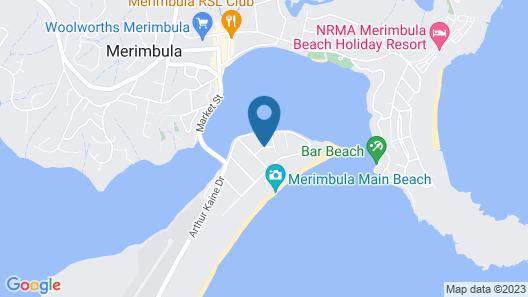 Seashells Apartments Merimbula Map