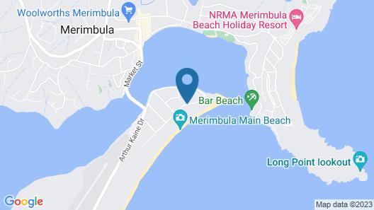 Merimbula Beach Apartments Map
