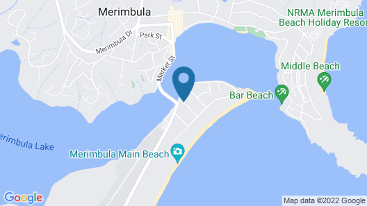 Sails Luxury Apartments Merimbula Map
