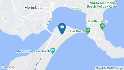 Surfside Holiday Apartments Map