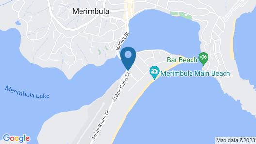 Aquarius Resort Holiday Apartments Map