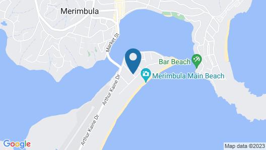 Coast Resort Merimbula Map
