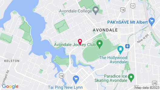 Avondale Motor Inn Map