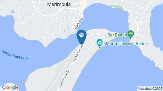 Black Dolphin Resort Motel & Apartments Map