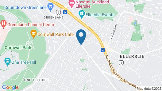 Greenlane Manor Motel Map
