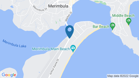 Waterview Luxury Apartments Map