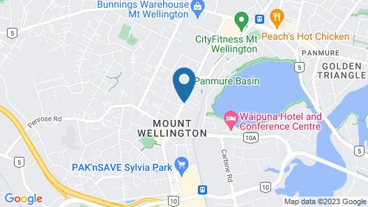 Sylvia Park Motel Map