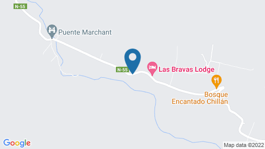Cabaña Chillan Canahuate Map