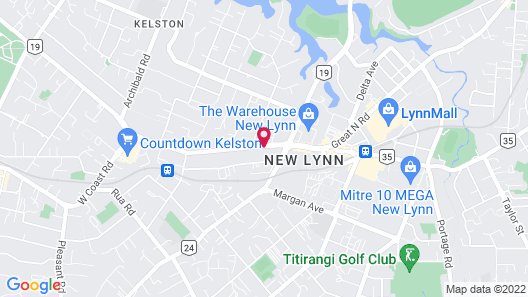 New Haven Motel Map