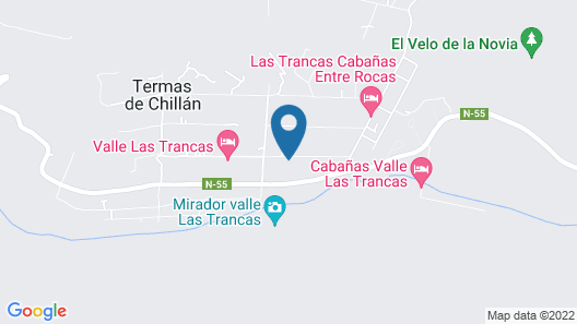 Cabañas Las Añañucas III Map