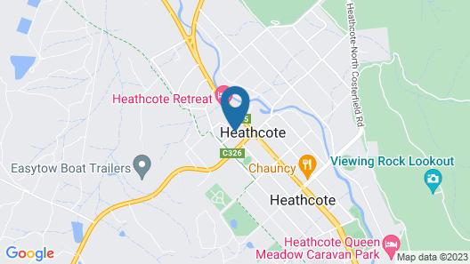 Heathcote Inn Map